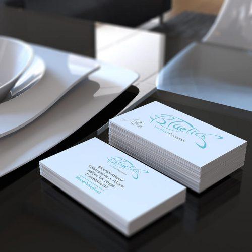 Επαγγελματικές Κάρτες Bluefish