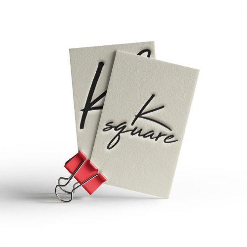 Επαγγελματικές Κάρτες K Square