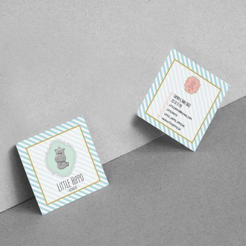 Επαγγελματικές Κάρτες Little Hippo