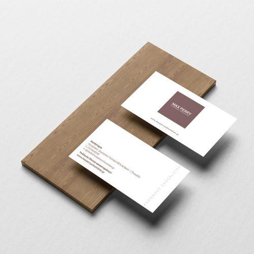 Επαγγελματικές Κάρτες Max Perry