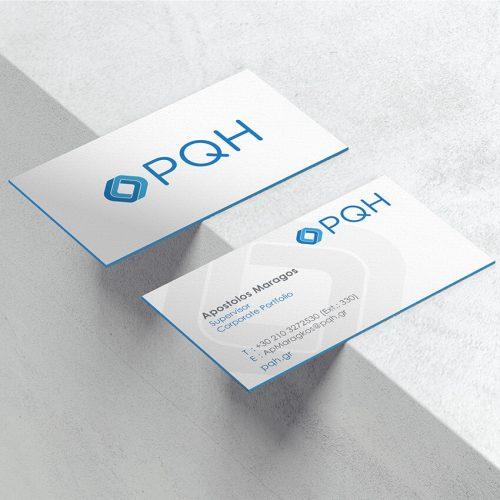 Επαγγελματικές Κάρτες PQH