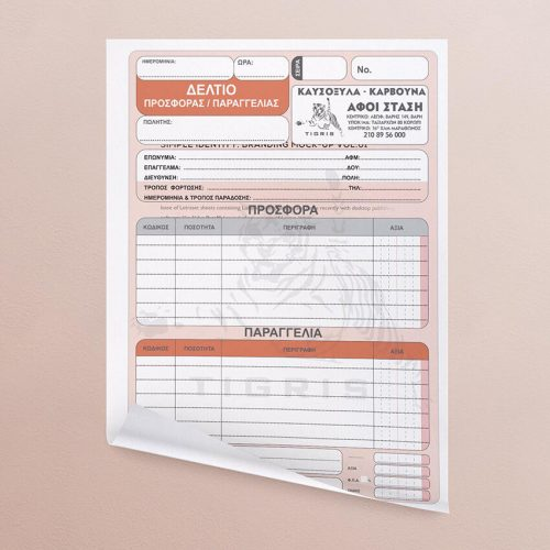 Λογιστικά Έντυπα Fotocopy